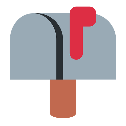 Closed Mailbox With Raised Flag Emoji