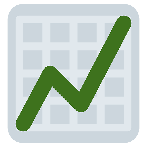 Chart With Upwards Trend Emoji