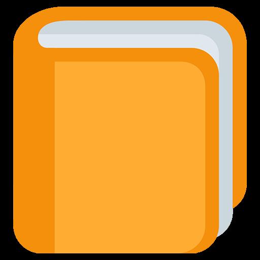 Orange Book Emoji