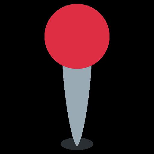 Round Pushpin Emoji