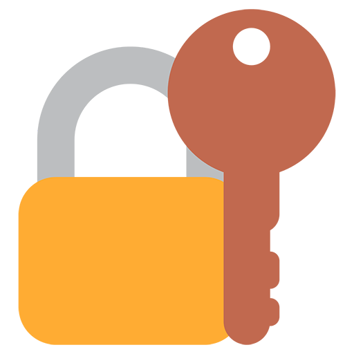 Closed Lock With Key Emoji
