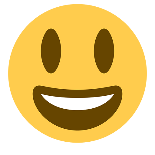 Smiling Face With Open Mouth Emoji