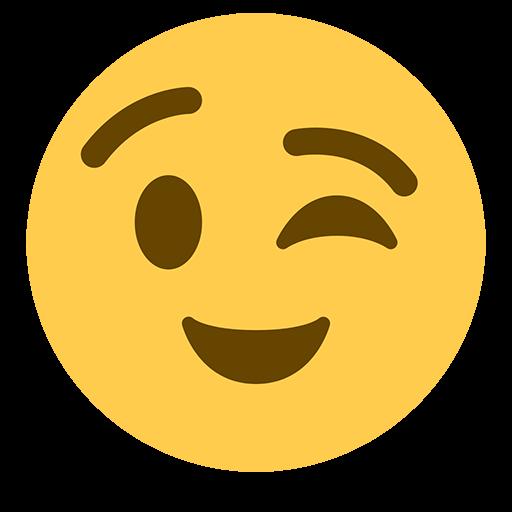 Winking Face Emoji