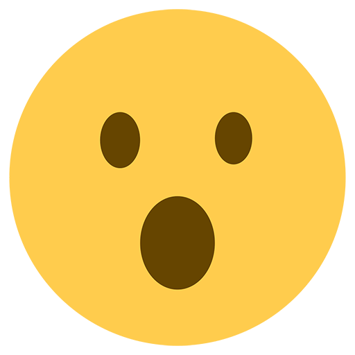 Face With Open Mouth Emoji
