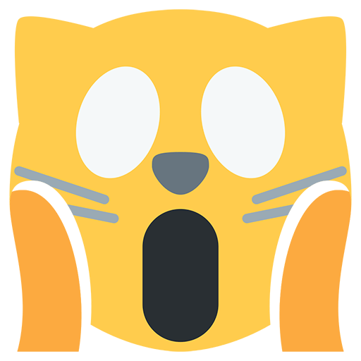 Weary Cat Face Emoji