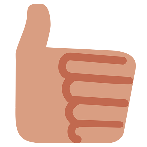 Thumbs Up Sign Emoji