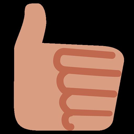 Thumbs Up Sign Emoji