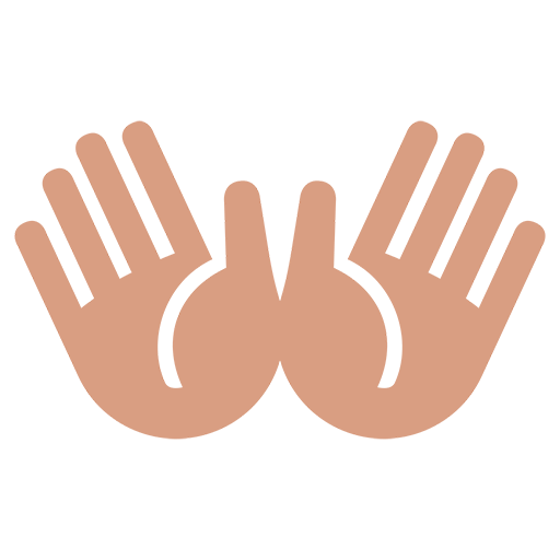 Open Hands Sign