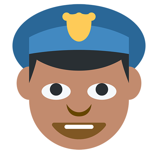 Police Officer Emoji