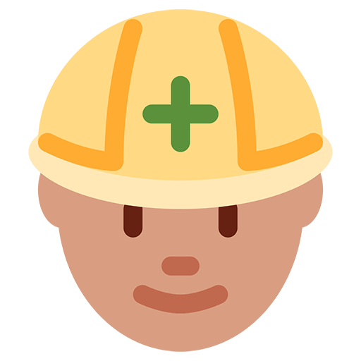 Construction Worker Emoji