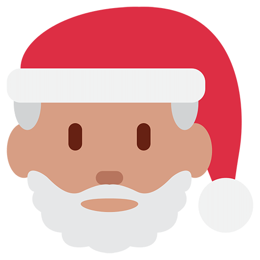 Father Christmas Emoji for Facebook, Email & SMS | ID#: 10596 ...