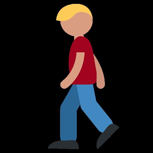 pedestrian emoji for facebook email sms id 1386