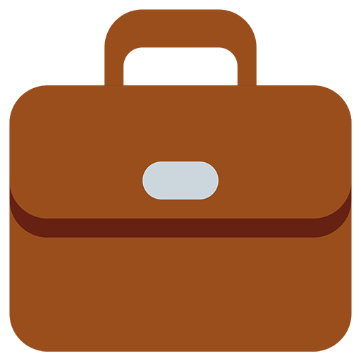 Briefcase Emoji for Facebook, Email & SMS