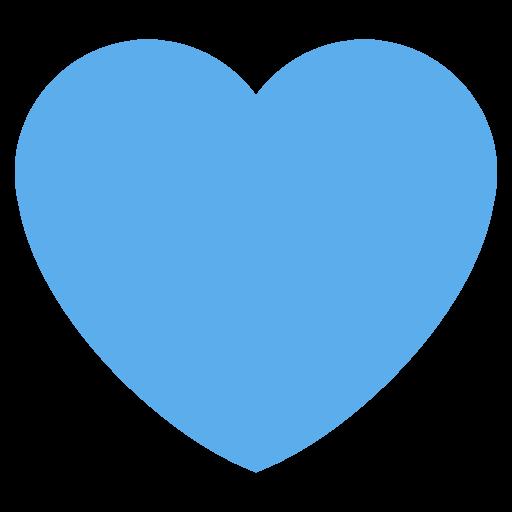 Blue Heart Emoji