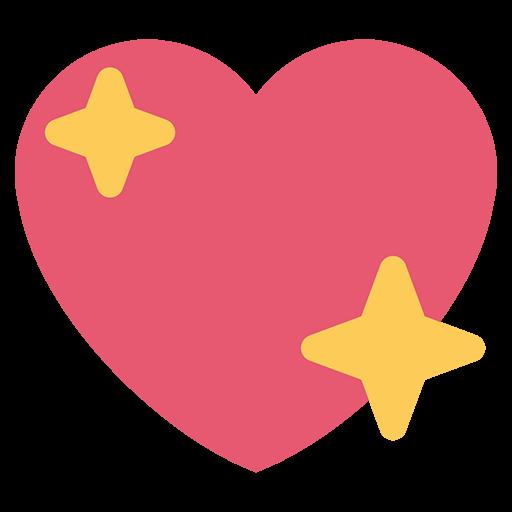 Sparkling Heart Emoji For Facebook Email Sms Id 11083 Emoji