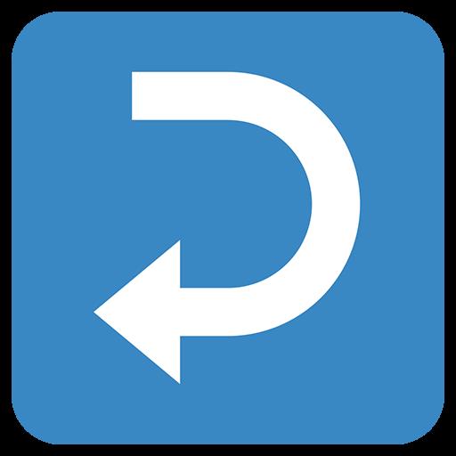 Leftwards Arrow With Hook Emoji