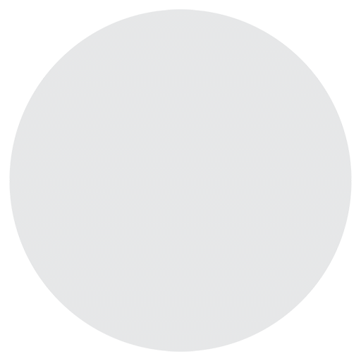 Medium White Circle Emoji