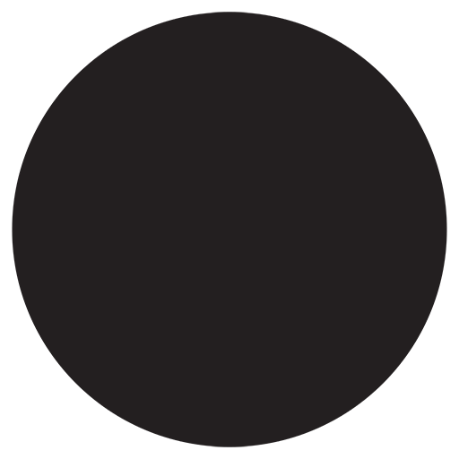 Medium Black Circle Emoji
