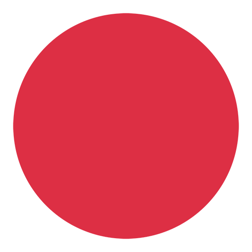 Large Red Circle Emoji