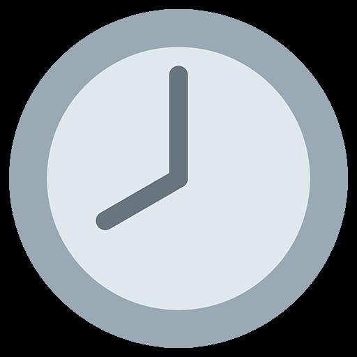 Clock Face Eight Oclock Emoji