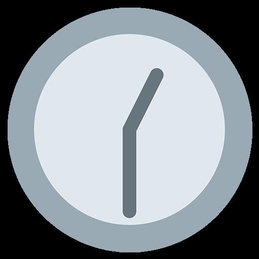 Clock Face One-Thirty Emoji