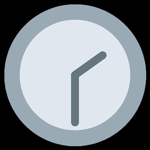 Clock Face Two-Thirty Emoji