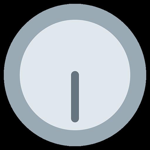 Clock Face Six-thirty Emoji