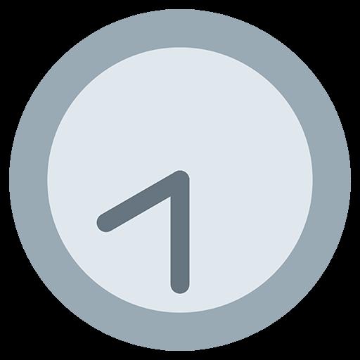 Clock Face Eight-Thirty Emoji