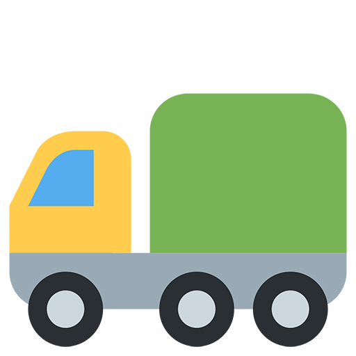 Articulated Lorry Emoji