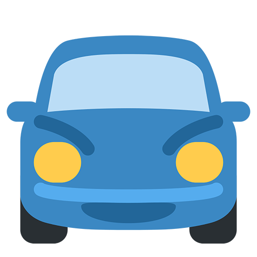 Oncoming Automobile Emoji