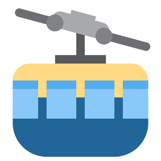 Mountain Cableway Emoji
