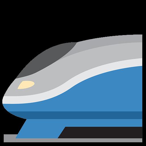 High-speed Train Emoji