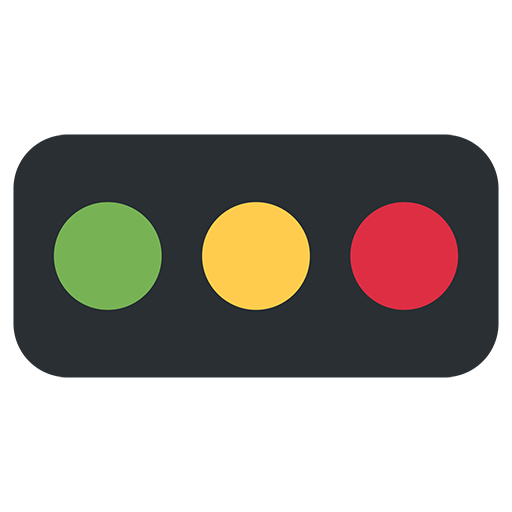 Horizontal Traffic Light Emoji