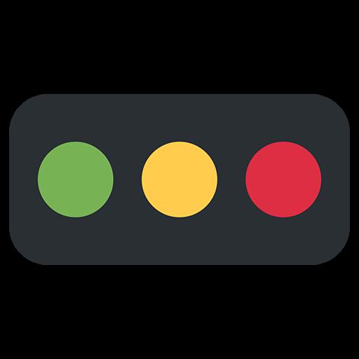 Horizontal Traffic Light Emoji